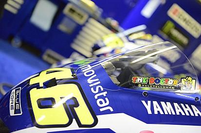 Une chute lente et un chrono rapide pour Valentino Rossi
