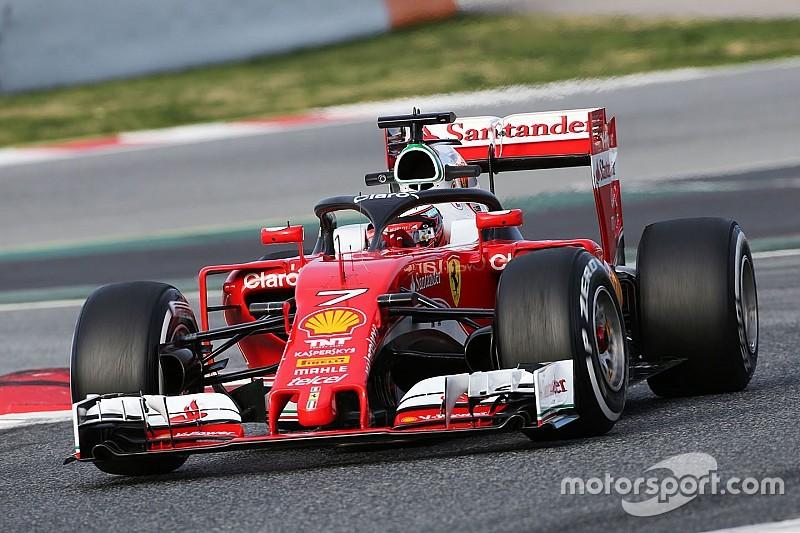 Photos - Le halo sur le cockpit de la Ferrari SF16-H