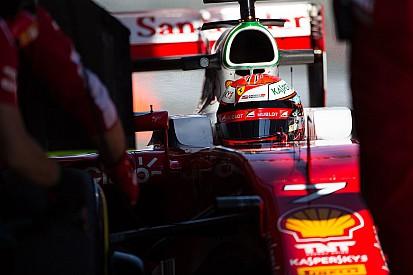 """Raikkonen: """"E oggi con la Ferrari potevamo fare anche meglio!"""""""
