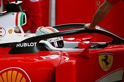 Ferrari vuelve a probar el Halo