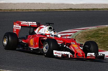 Vettel mantuvo a Ferrari arriba en el final de las pruebas