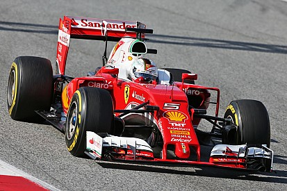 Test Barcellona, Day 4: Vettel conferma la Ferrari in vetta