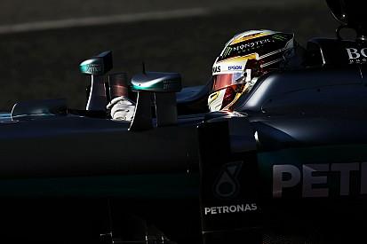 """Hamilton: """"Sono felice di aver rotto la macchina a fine test"""""""