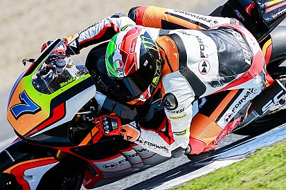 Baldassarri terzo alla fine dei test di Jerez
