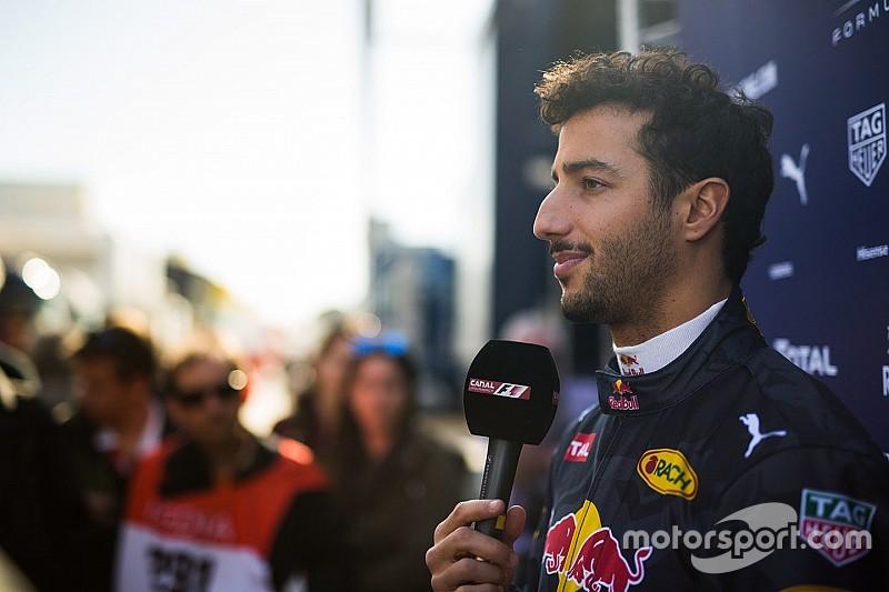 Daniel Ricciardo zur Kritik am Halo: Kein Grund, sich als Held aufzuspielen