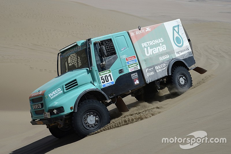 How can a Dakar Truck help Lewis Hamilton retain his F1 crown?