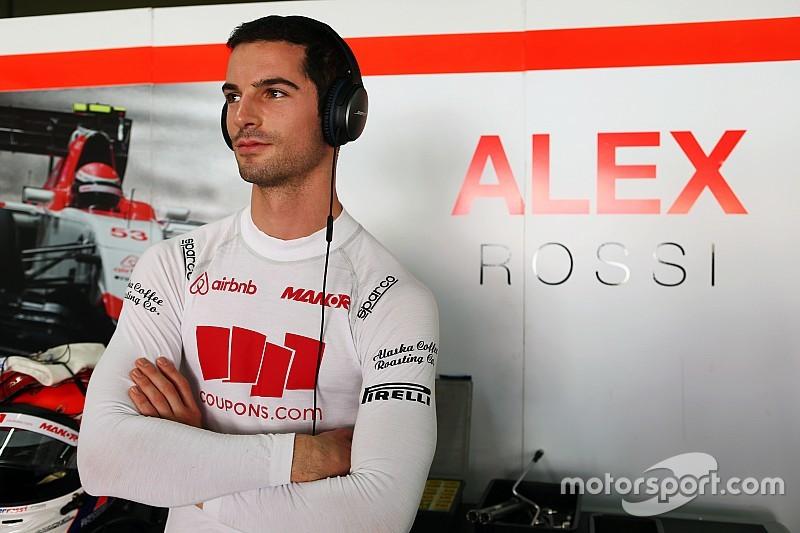 Rossi nommé pilote de réserve Manor Racing