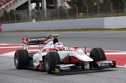 Sirotkin il più rapido nella prima giornata di test GP2 al Montmelo