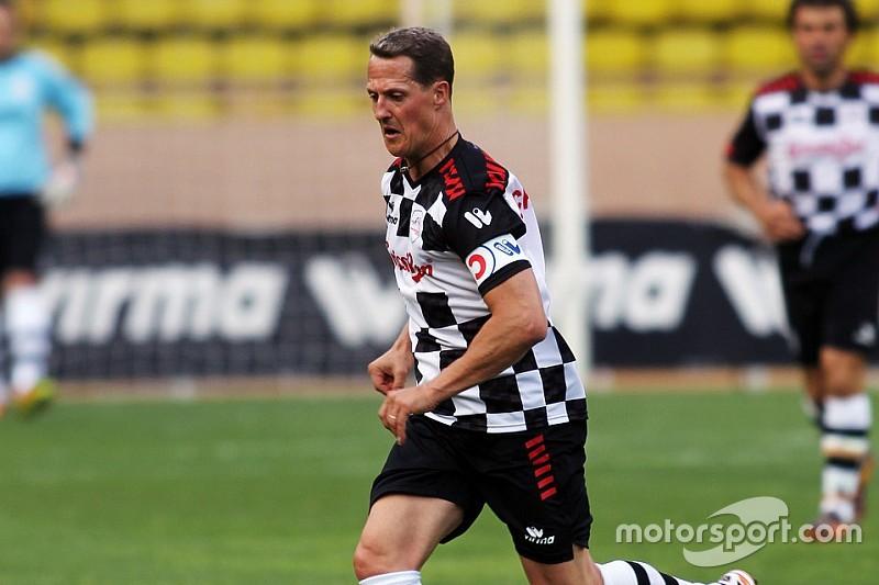 Maior artilheiro das Copas do Mundo homenageia Schumacher