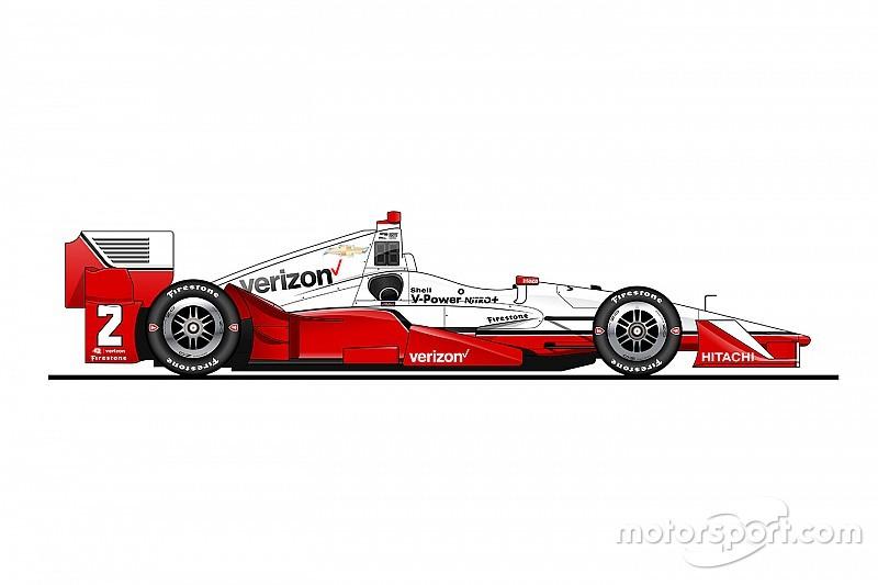 Fotostrecke: Alle IndyCar-Fahrzeuge 2016 als Zeichnungen
