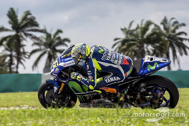 Rossi - Michelin inquiétait en 2015, tout a changé à Sepang