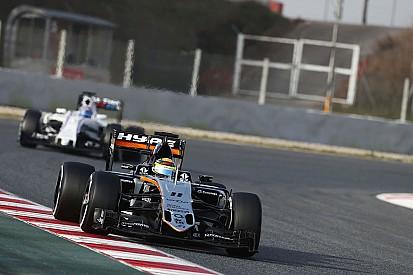 "Hülkenberg espère que Force India pourra ""attaquer"" Williams"