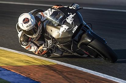 """KTM dio """"un claro paso adelante"""" tras probar en Valencia"""