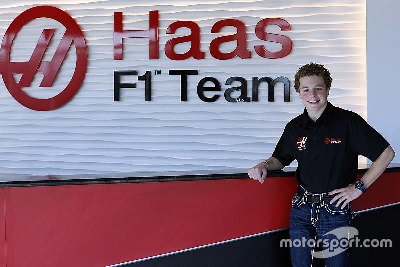 Santino Ferrucci nominato development driver del team Haas F1