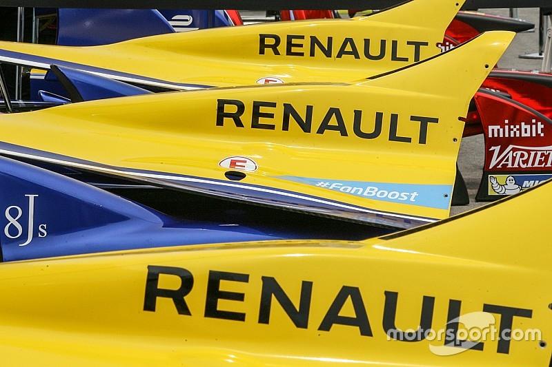 Renault in der Formel E: Ab Saison drei Motoren auch für Kundenteams?