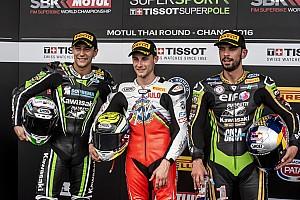 Supersport Rennbericht Jules Cluzel gewinnt Supersport-WM-Lauf in Thailand