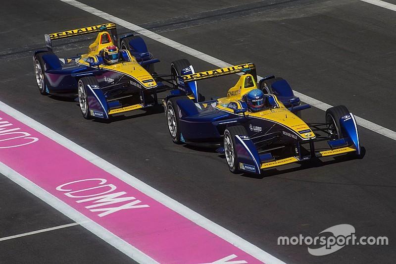 Le Renault e.dams? Un po' in affanno a Città del Messico