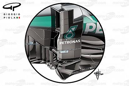 Technikanalyse: Die Neuerungen bei Mercedes unter der Lupe
