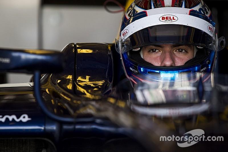 Renault recrute Nicholas Latifi comme pilote d'essais