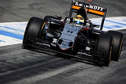 """Perez: """"Force India momenteel ver verwijderd van podium"""""""