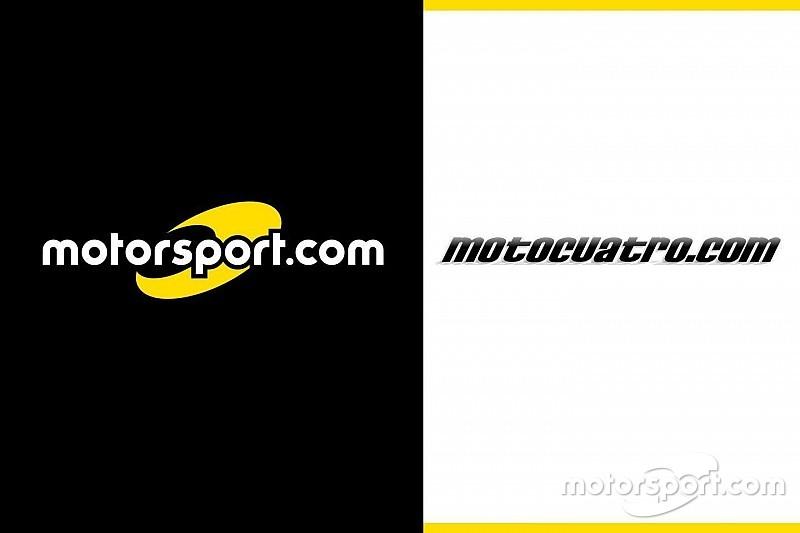 Motorsport.com adquire a empresa digital líder na EspanhaMotocuatro.com