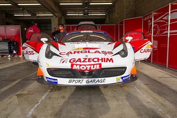 Trois Ferrari 458 GT3 pour CMR by Sport Garage