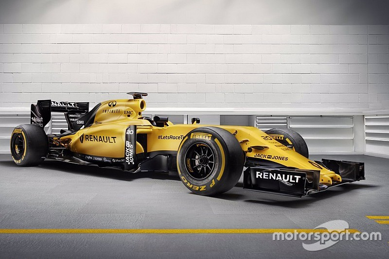 Neue Farben: Renault präsentiert finales Formel-1-Design für 2016