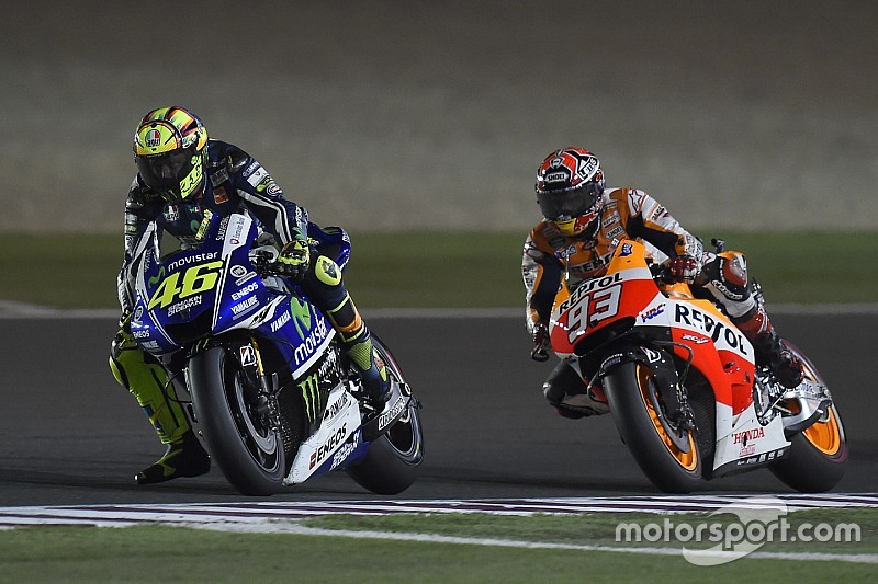 """Rossi expects """"nothing special"""" between himself and Marquez"""