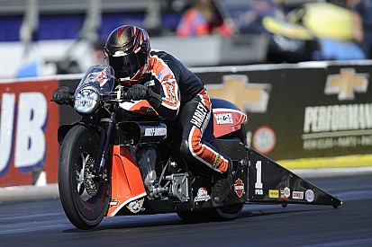 Hines seeking a sixth Pro Stock Motorcycle title in 2016
