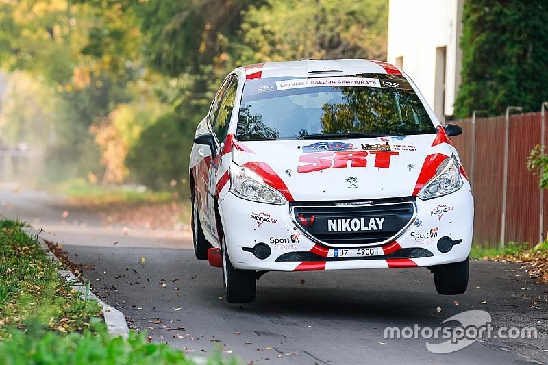 Николай Грязин готовится к старту ERC Junior