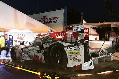 Sebring: Heftiger Crash im Abendtraining