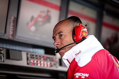 """Jock Clear - """"Je dois évoluer avec Ferrari"""""""