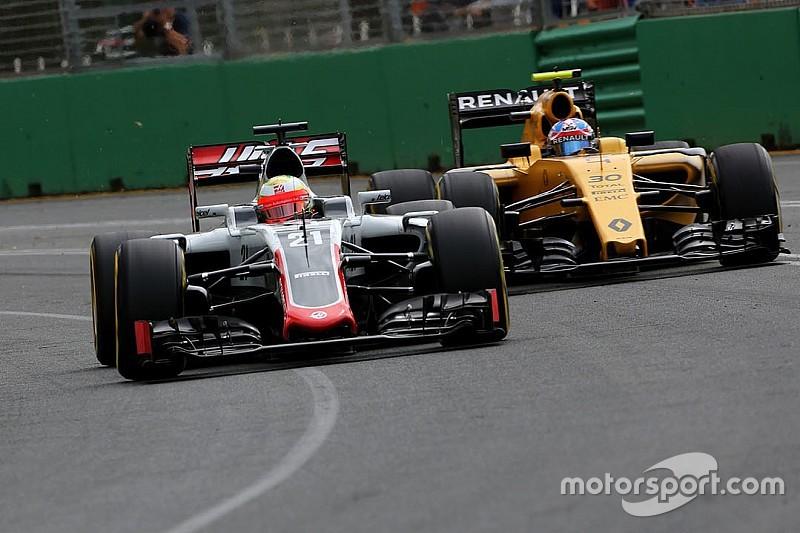 La grille de départ du GP d'Australie