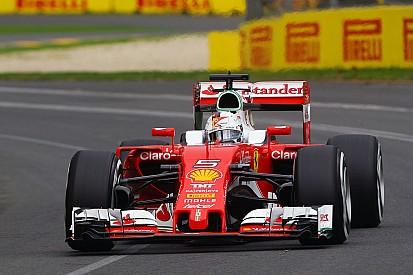 Vettel - Ferrari sera plus proche de Mercedes en course