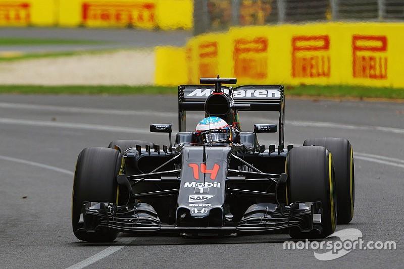 Snelheid McLaren 'grote verrassing' voor Alonso en Button