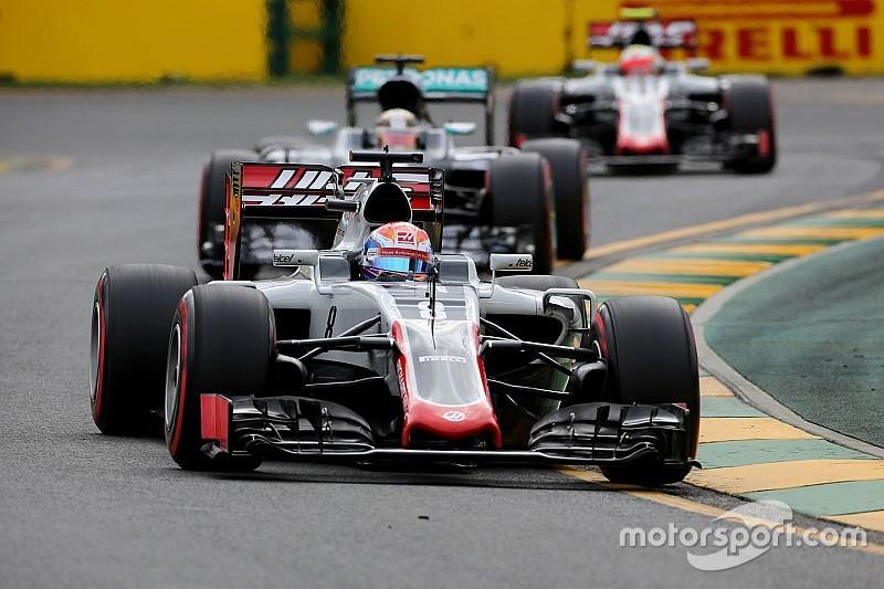 Die Startaufstellung für den Großen Preis von Australien der Formel 1