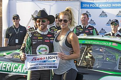 Austin Dillon conquista la pole a Fontana