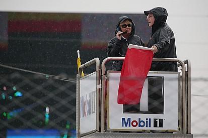 12 Horas de Sebring (tres horas): Una tormenta provoca bandera roja