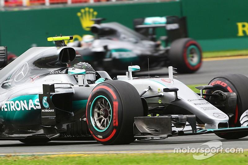 La Mercedes senza supersoft nuove!