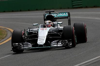 """Hamilton """"très heureux du résultat"""" malgré une pole non convertie"""
