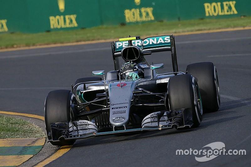 Rosberg es el primer líder; Mercedes ya manda entre contructores