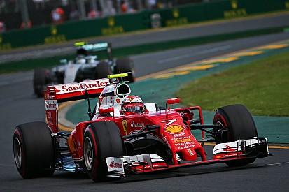 """Raikkonen: """"Bene la velocità della Rossa, ma le gare vanno finite"""""""