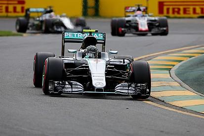 """Rosberg ne pouvait pas """"mieux commencer la saison"""""""