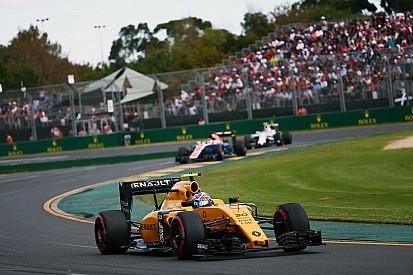 Palmer et Renault frustrés, aux portes des points