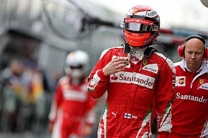"""Raikkonen: """"Somos veloces, pero hay que acabar carreras"""""""