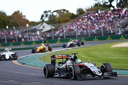 Le drapeau rouge a gâché la stratégie de Force India