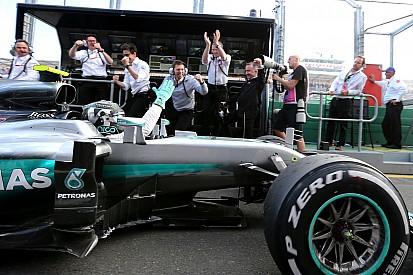 Mercedes - Rosberg a frôlé l'abandon à Melbourne