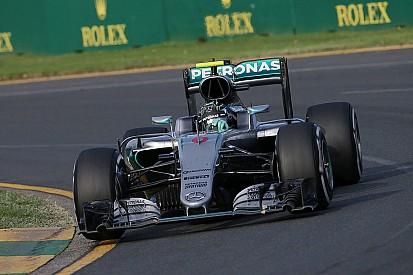 Un problema de temperatura casi hace abandonar a Rosberg