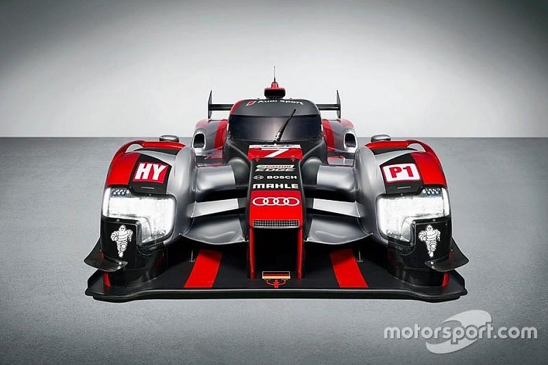 Audi présente la livrée de sa R18 pour 2016