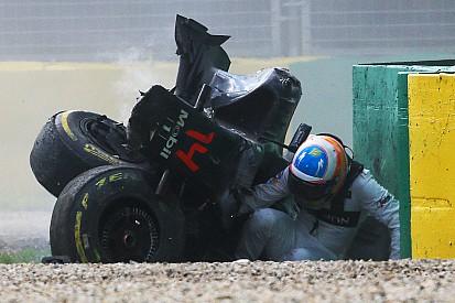 Le crash d'Alonso sera utile pour les études sur le Halo
